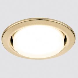 Светильник точечный Ambrella light G101 SB бронза GX53