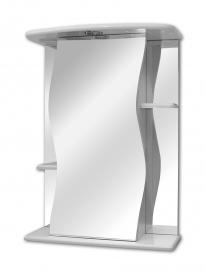 Шкаф зеркальный Lasko Лилия-55, правый