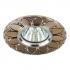 Светильник точечный Эра KL42 SL-GD литой поворотный алюминевый MR16 12В 50Вт серебро-золото
