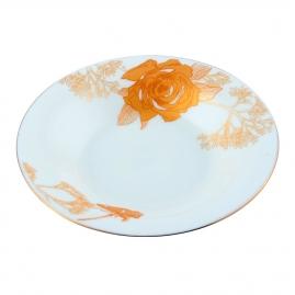 Тарелка суповая d21,5см золотая роза GOP01-03