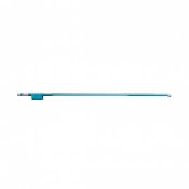 Карниз для ванной комнаты Fora 125-210см, голубой
