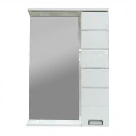 Зеркало AQUANET Доминика 60 LED, цвет белый 171918