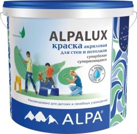 Краска Альпалюкс DIY база С прозрачная 1,812л для стен и потолков