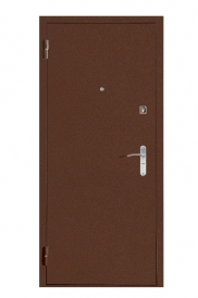 Дверь металлическая М371 фреза 1008 итальянский орех 870 левая