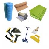 Подложка и средства для укладки напольных покрытий