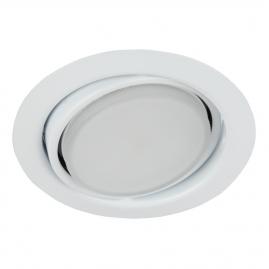 Светильник точечный Эра KL35 А WH под лампу Gx53 поворотный 13Вт белый