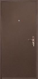 Дверь металлическая VALBERG Б2 ПРОФИ металл/металл антик медный 2036x850мм правая