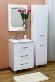 Зеркало Sanflor Венеция 60 белый