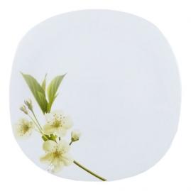 Тарелка обеденная La Opala Quadra Подснежник 27,8см 04-F01