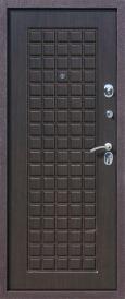 Дверь металлическая Троя шелк бордо венге, правая 860мм