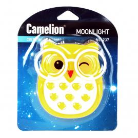 Ночник Camelion NL-237 светодиодный с выключателем сова 220В 13812