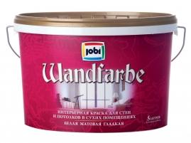Краска для внутренних работ JOBI WandFarbe дисперсионная 5л