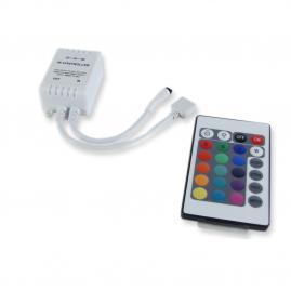 Контроллер Эра для светодиодных лент RGB 72Вт 12В-24В с пультом RGBcontroller-12-24V-72W