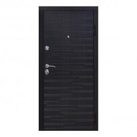 Дверь металлическая Gotland венге/венге 2050x960 правая