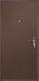 Дверь металлическая VALBERG Б2 ПРОФИ металл/металл антик медный 2036x950мм правая