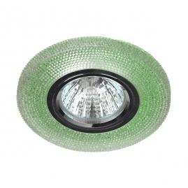Точечный светильник Эра DK LD1 GR cо светодиодной подсветкой 3Вт зеленый