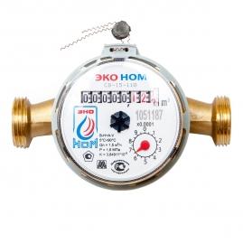 Счетчик воды универсальный ЭКО НОМ-15-110 без монтажного комплекта
