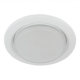 Светильник точечный Эра KL70 WH под лампу Gx53 тонкий 13Вт белый