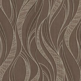 Обои виниловые горячего тиснения MaxWall мокко абстракция 1,06х10,05м 168220-26