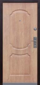 Дверь металлическая Kaiser К538-2 Карпатская ель/комби, правая 860