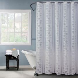 Штора для ванной комнаты Swensa Isme 180х180см белый, PEVA SWC-50-11