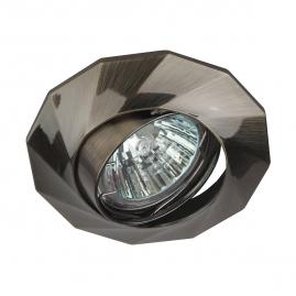 Точечный светильник Эра KL65А SB литой  MR16 12В 220В 50Вт бронза