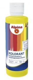 Колер Alpina черный 500 мл651929