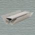 Угол внутренний NORDSIDE Серый 3050x1,1мм