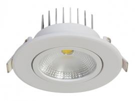 Светильник точечный светодиодный Jazzway 5Вт 4000K IP40 белый PSP-R 8840