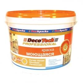 Краска ВД DecoTech Моющаяся база С 10,0 л