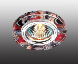 Точечный светильник Novotech Rainbow алюминий-цветной IP20 GX5.3 50Вт 12В 369909 NT14 229