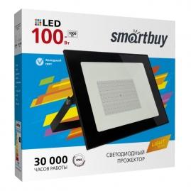 Прожектор светодиодный Smartbuy 100Вт 6500К IP65 FL SMD LIGHT черный SBL-FLLight-100-65K