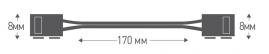 Соединитель для LED лент 3528 Camelion SLC-04 3шт