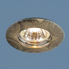 Точечный светильник MR16, 602 бронза