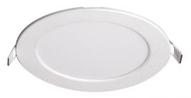 Светильник светодиодный встраиваемый Jazzway круг 6Вт 4000K 120x25мм белый PPL - RPW
