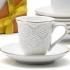Набор кофейный из фарфора Loraine 12 предметов объем 90мл 25772