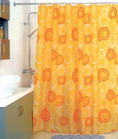Шторка для ванной Milardo Holiday rounds 860P180M11