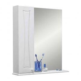 Зеркало для ванны Sanflor Карина 55 левое, белое