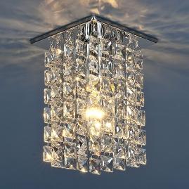 Точечный светильник Strotskis 207 прозрачный, хромированный