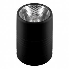Светильник светодиодный Feron накладной AL518 10Вт 800Lm, 4000K, 30 градусов, черный 29890