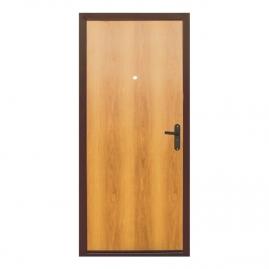 Дверь металлическая Меги 060 миланский орех 2050x960мм правая