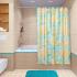 Штора для ванной комнаты Fora Ракушки и звёзды PH19