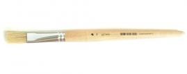 Кисть художественная для масляной краски плоская Fit 01252
