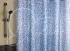 Шторка для ванной Vilina Мозаика голубая 1505-1