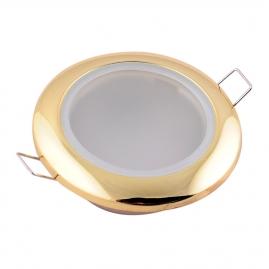 Точечный светильник Эра WR1 GD влагозащищенный MR16, 12V, 50W золото