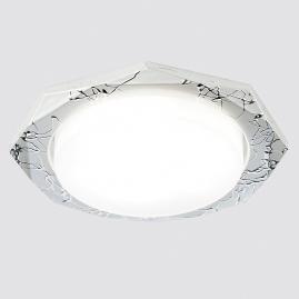 Светильник точечный Ambrella light G180 SL серебро GX53
