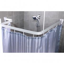Карниз для ванн 688-10 гибкий 3м, белый