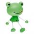 Ночник Feron FN1158 4LED 0,5Вт220В с датчиком день ночь лягушка зеленый 23364