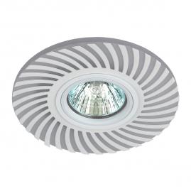 Светильник точечный Эра 32 WH PMMA, сталь MR16 GU5.3 220Вт IP20 подсветка 3Вт Б0036502