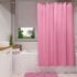 Штора для ванной комнаты Fora ЖАККАРД, розовая 001-В